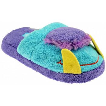 Schuhe Kinder Hausschuhe De Fonseca Pump It Monster pantoffeln hausschuhe Blau