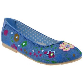 Schuhe Kinder Ballerinas Lulu Perline ballet ballerinas Blau