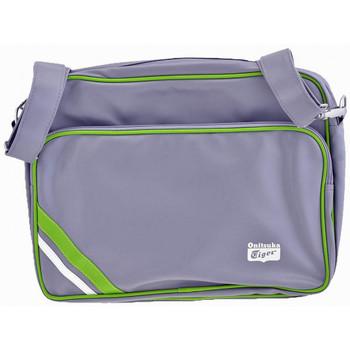 Taschen Herren Umhängetaschen Onitsuka Tiger BandPC27x36x7taschen Grau