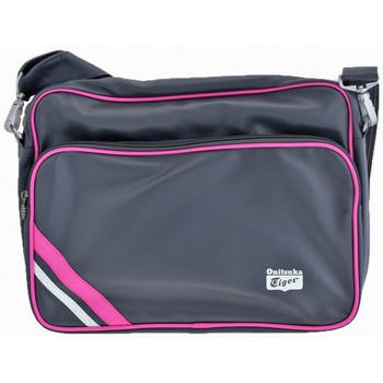 Taschen Damen Umhängetaschen Onitsuka Tiger BandPC27x36x7taschen Grau
