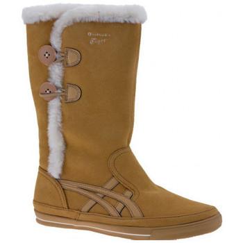 Schuhe Damen Low Boots Onitsuka Tiger SekkaCrystalHairhalbstiefel Beige