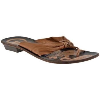 Schuhe Damen Zehensandalen Progetto 202 Ethnic flip flop zehentrenner