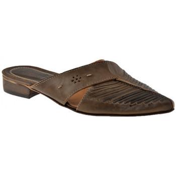 Schuhe Damen Pantoletten / Clogs Progetto 4115 Texan sabot