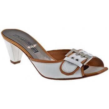 Schuhe Damen Sandalen / Sandaletten Progetto C233Heel40sandale Weiss