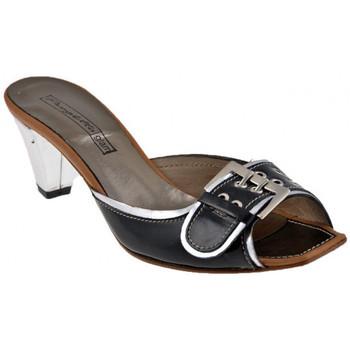 Schuhe Damen Sandalen / Sandaletten Progetto C233Heel40sandale Schwarz
