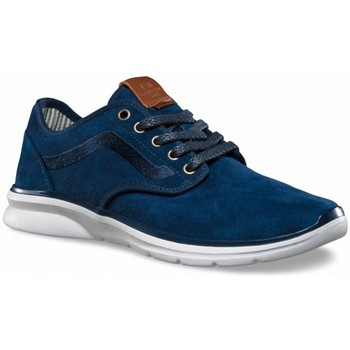 Schuhe Herren Sneaker Low Vans Chaussures Iso 2 Trim Dress Blue - Bleu