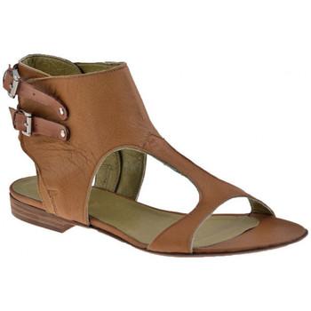 Schuhe Damen Sandalen / Sandaletten Progetto M097-Slavesandale Braun