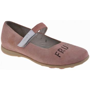 Schuhe Kinder Ballerinas Frutta Apple-Klett ballet ballerinas
