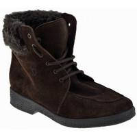 Schuhe Damen Boots Valleverde Lace Wolle Futter bergschuhe