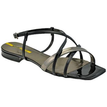 Lea Foscati Sandalen Geflochtene Strap sandale