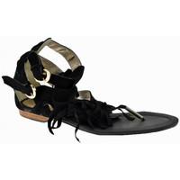 Schuhe Damen Zehensandalen Swish Slave 2 Schnallen flip flop zehentrenner