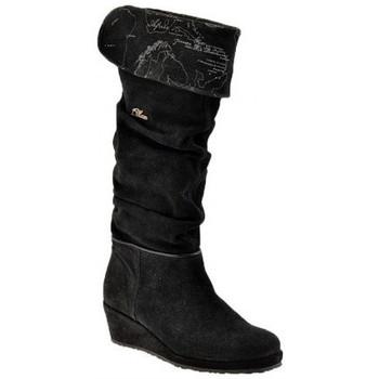 Schuhe Damen Klassische Stiefel Alviero Martini 30 Wedge und Half Zip stiefel