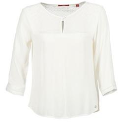 Kleidung Damen Tops / Blusen S.Oliver MADOULA Naturfarben
