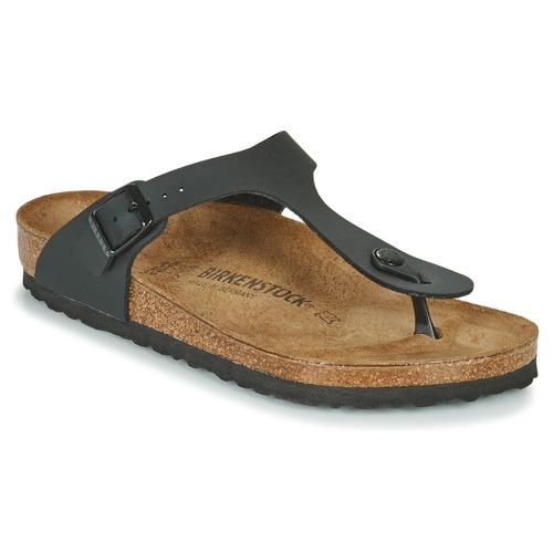 Schuhe Damen Zehensandalen Birkenstock GIZEH Schwarz