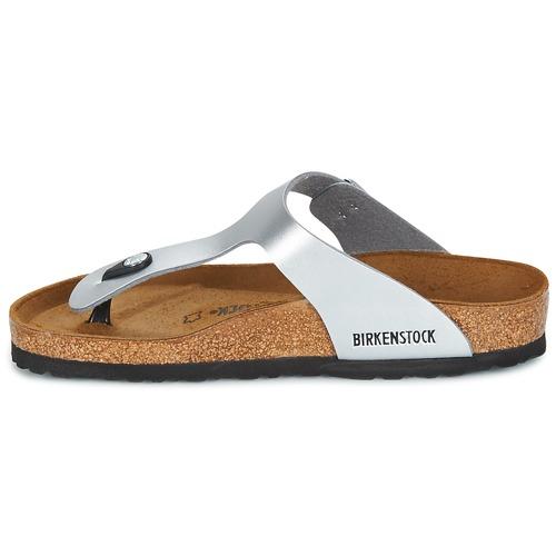 Birkenstock GIZEH Damen Silbern  Schuhe Zehensandalen Damen GIZEH 74,99 b9a3d8