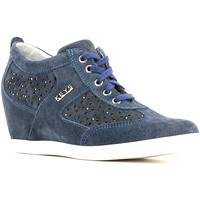 Schuhe Damen Sneaker High Keys 4933 Sneakers Frauen Blue