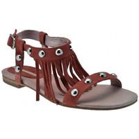Schuhe Damen Sandalen / Sandaletten Donna Loka Sklave sandale