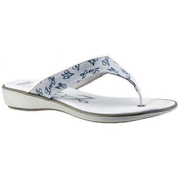 Schuhe Damen Zehensandalen Liu Jo Logoed flip flop zehentrenner