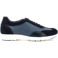 Schuhe Herren Sneaker Low Soldini 19543 9 S31 Classic shoes Man Blue