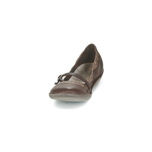 TBS MARIZA Braun / Kupfer Ballerinas  Schuhe Ballerinas Kupfer Damen 56 92fe7e