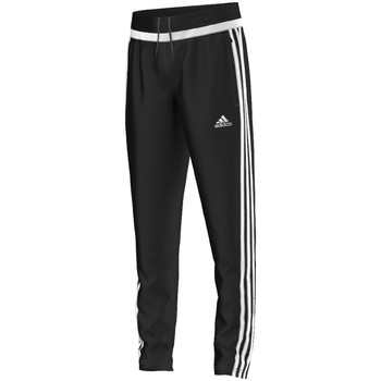 Kleidung Jungen Jogginghosen adidas Performance tiro15 Training Pant Jr BLACK / WHITE / BLACK