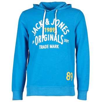 Kleidung Herren Sweatshirts Jack & Jones ATHLETIC SWEAT ORIGINALS Blau