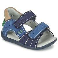 Schuhe Jungen Sandalen / Sandaletten Kickers BOPING Marine