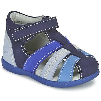Schuhe Jungen Sandalen / Sandaletten Kickers BABYSUN Marine / Blau