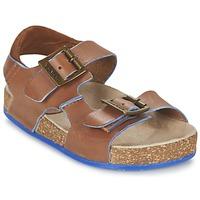 Schuhe Jungen Sandalen / Sandaletten Kickers NANTI Braun
