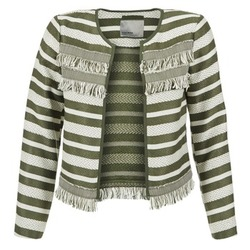 Kleidung Damen Jacken / Blazers Vero Moda FRILL Kaki / Naturfarben