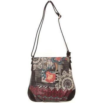 Taschen Damen Geldtasche / Handtasche Smash Sac à bandoulière Cadence noir Schwarz