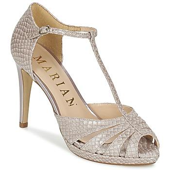 Schuhe Damen Sandalen / Sandaletten Marian CHANVRO Beige