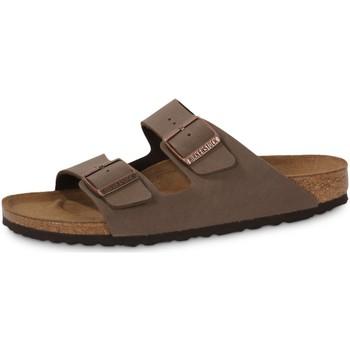 Schuhe Herren Pantoffel Birkenstock Arizona Mocca Noir