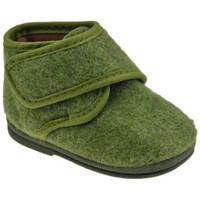 Schuhe Kinder Babyschuhe Diamantino 1113Klettsaeugling Grün