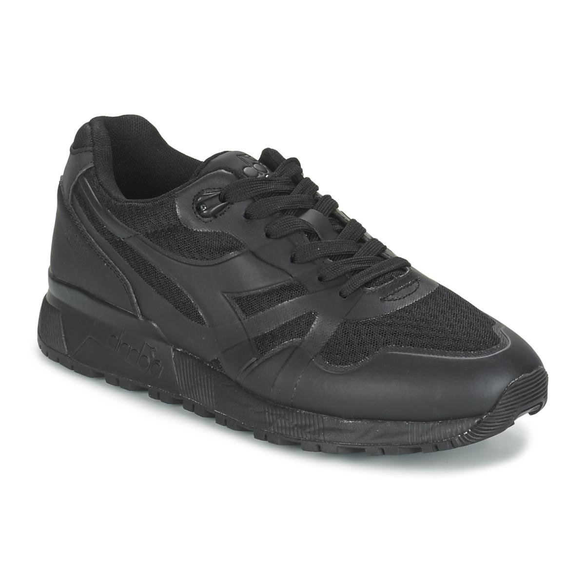 Diadora N9000 MM II Schwarz - Kostenloser Versand bei Spartoode ! - Schuhe Sneaker Low Herren 81,00 €