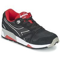 Schuhe Sneaker Low Diadora N9000 NYLON II Schwarz / Rot