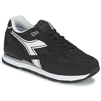 Schuhe Sneaker Low Diadora N-92 Schwarz / Weiss