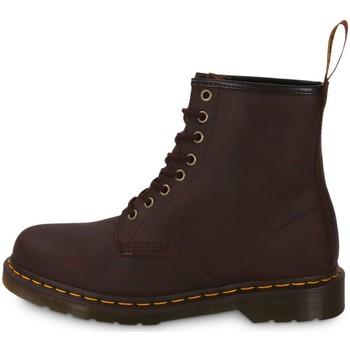 Schuhe Herren Boots Dr Martens 1460 Crazy Horse Marron