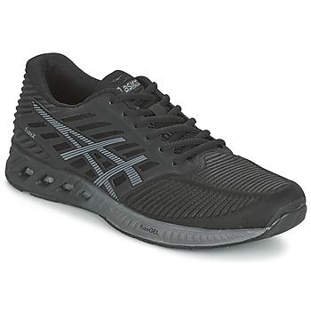 Schuhe Herren Laufschuhe Asics FUZEX Schwarz