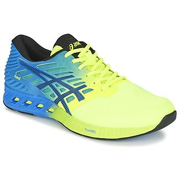 Schuhe Herren Laufschuhe Asics FUZEX Blau / Gelb