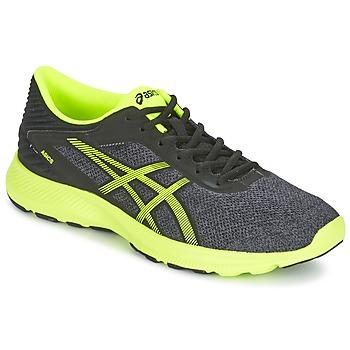 Schuhe Herren Laufschuhe Asics NITROFUZE Grau / Gelb