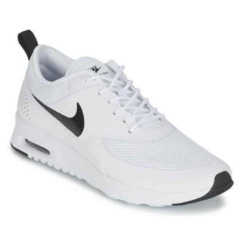 Nike AIR MAX THEA W Weiss / Schwarz - Schuhe Sneaker Low Damen 93,97