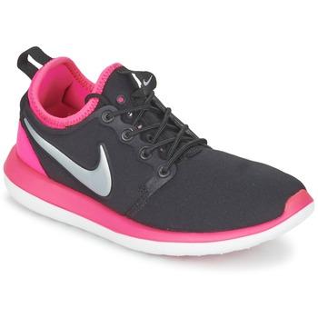 Schuhe Mädchen Sneaker Low Nike ROSHE TWO JUNIOR Schwarz / Rose