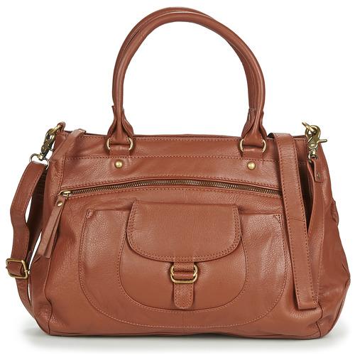 Taschen Damen Handtasche Betty London ETRAME Cognac