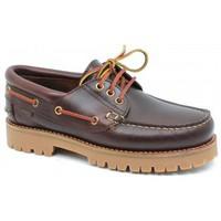 Schuhe Herren Bootsschuhe CallagHan mod.21910 Marrón Marrón