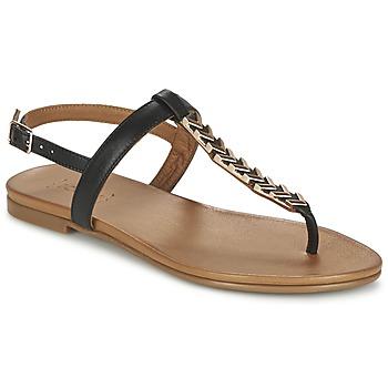 Schuhe Damen Sandalen / Sandaletten Bocage JANET Schwarz