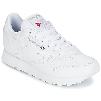 Schuhe Damen Sneaker Low Reebok Classic CLASSIC LEATHER Weiss