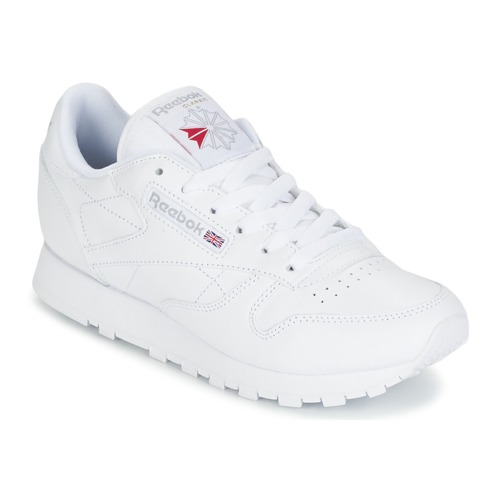 Schuhe Sneaker Low Reebok Classic CLASSIC LEATHER Weiss