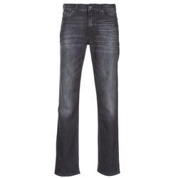 Kleidung Herren Straight Leg Jeans 7 for all Mankind SLIMMY LUXE PERFORMANCE Grau