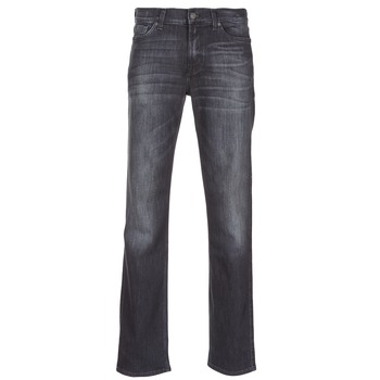 Kleidung Herren Straight Leg Jeans 7 for all Mankind SLIMMY LUXE PERFORMANCE Grau